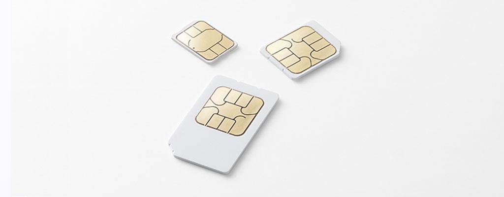 SIMカードの種類とサイズ|自分のスマホのSIMカードはどれ?調べ方は?