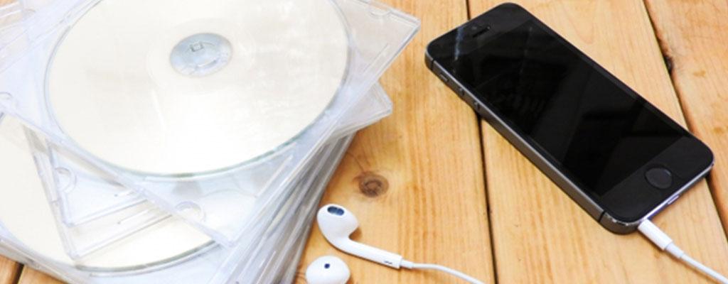 パソコンなしで音楽CDをスマホに取り込める「CDレコ」の使い方
