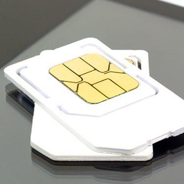 データSIMと音声通話SIMの違いとは?