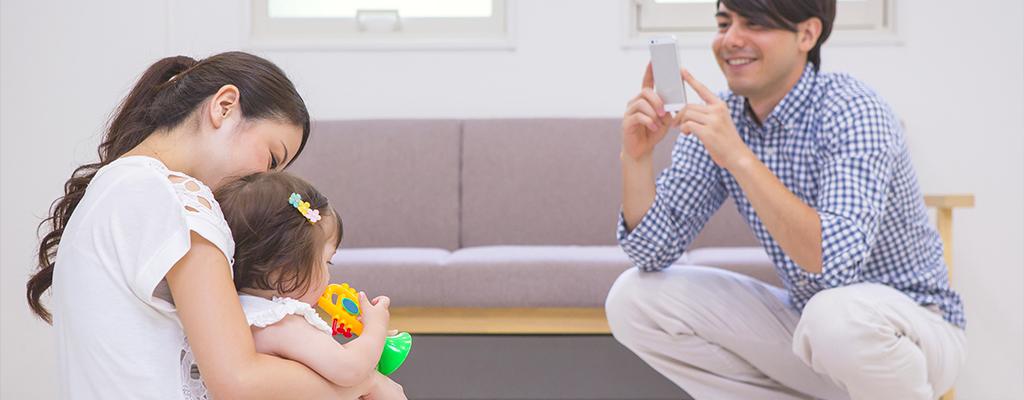家族で写真を共有するアプリなら「みてね」