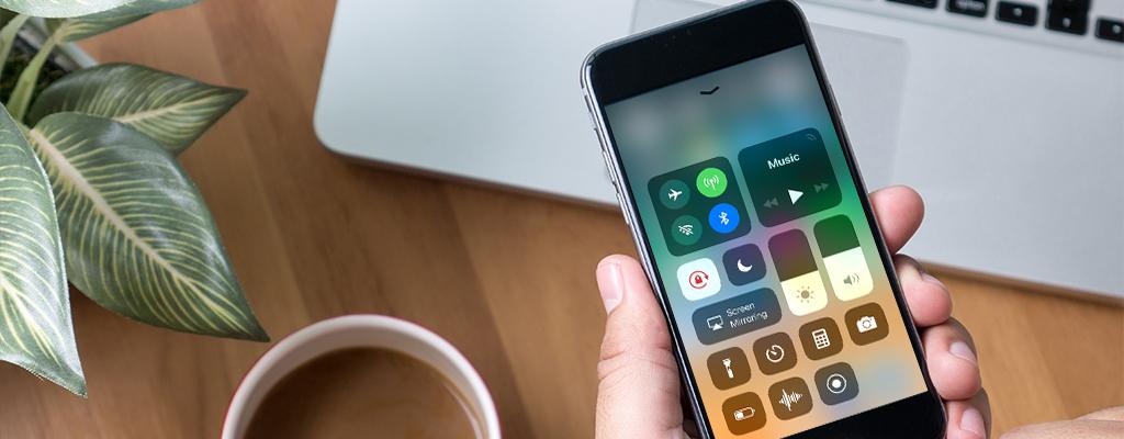 iOS 11の「コントロールセンター」は自由にカスタマイズできる!