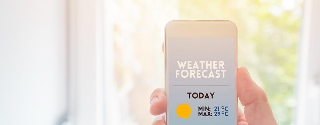 リアルタイムで天気がわかる気象庁レーダーとは?使い方は?