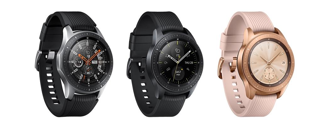 Galaxy Watchの機能や魅力を紹介|Apple Watchとの違いは?