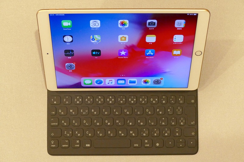 iPad AirはSmart Keyboardに対応