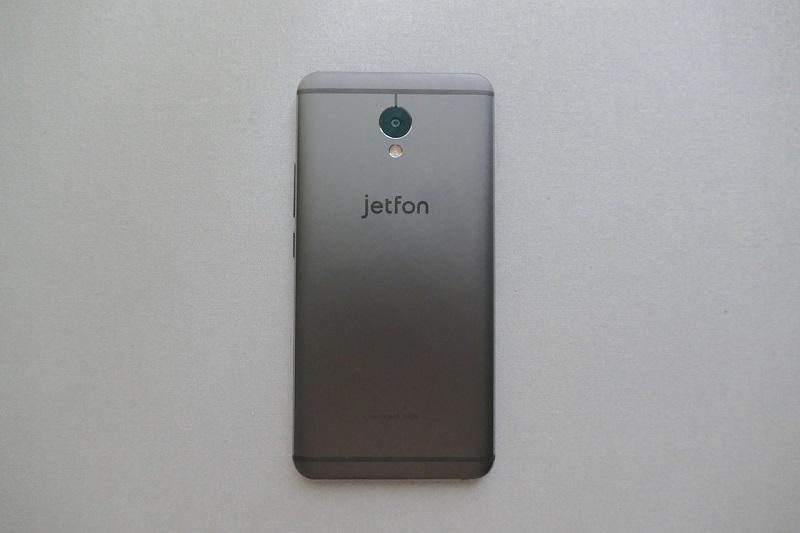 jetfonの背面デザイン