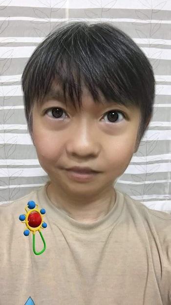 子どもフィルターでできた「子ども顔」