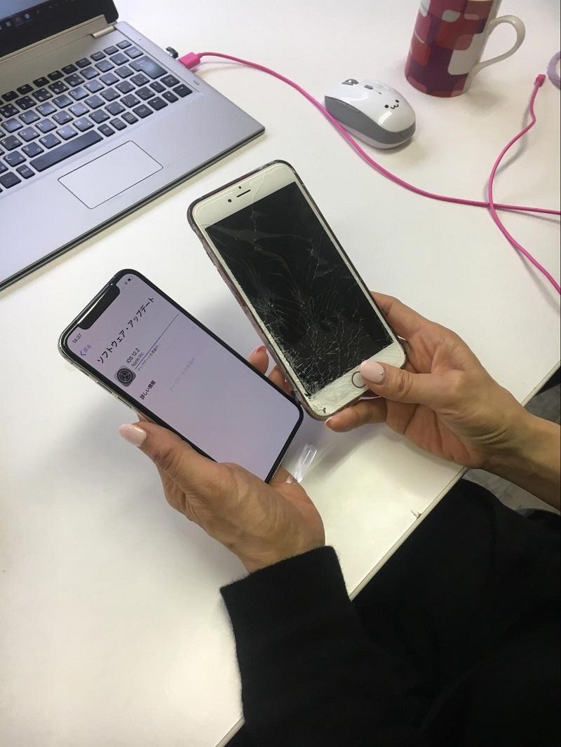 iPhoneのクイックスタートでデータ移行もスムーズ