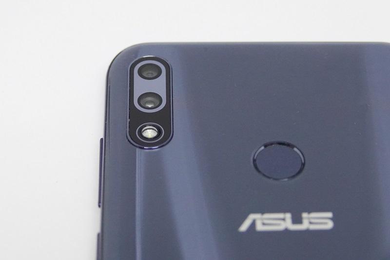 ZenFone Max Pro(M2)のデュアルレンズ
