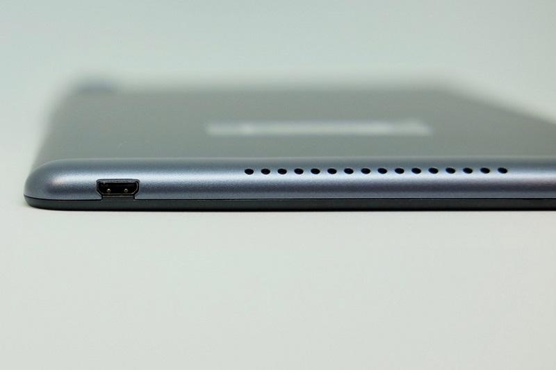 MediaPad M5 lite(8インチ・LTEモデル)のスピーカー