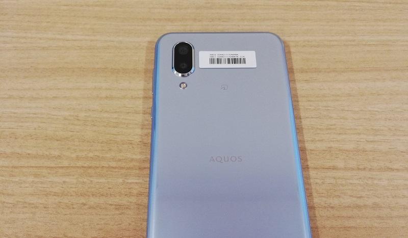 AQUOS sense3 plus SH-M11の背面デザイン