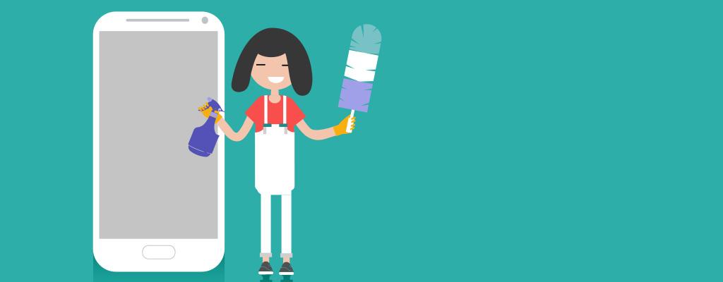 スマホの除菌・消毒方法は?故障を防ぐために推奨品を使うのがおすすめ