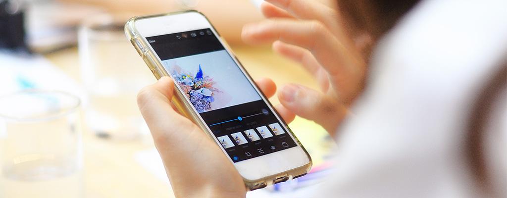 新しいiPhoneの「写真」アプリで画像編集をしてみた