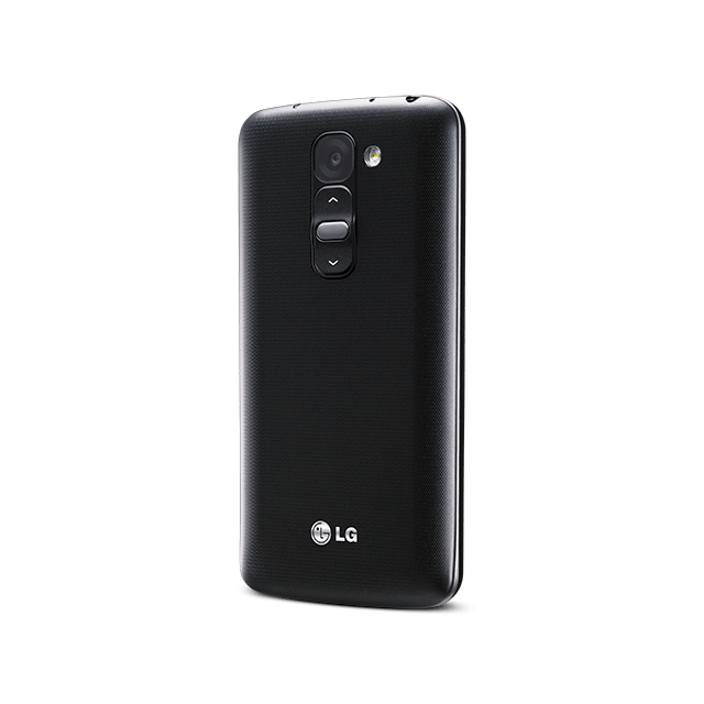 LG G2 mini for BIGLOBE ブラック angled-back