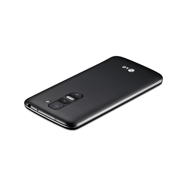 LG G2 mini for BIGLOBE ブラック angled-top
