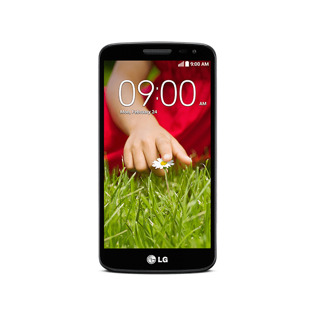 LG G2 mini for BIGLOBE ブラック front