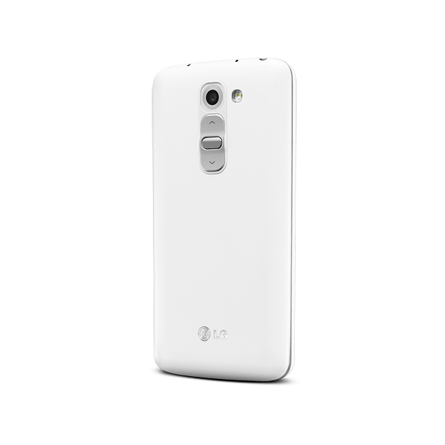 LG G2 mini for BIGLOBE ホワイト angled-back