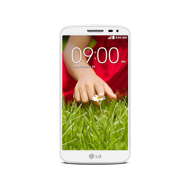 LG G2 mini for BIGLOBE ホワイト front