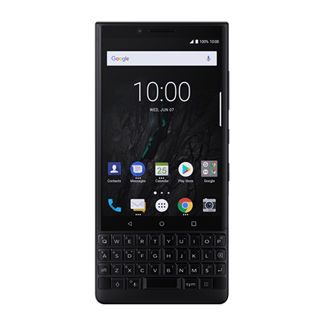 BlackBerry KEY2 ブラック front