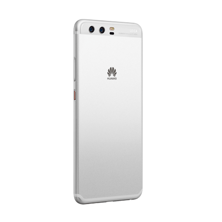 HUAWEI P10 シルバー angled-backサムネイル