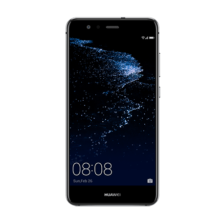 HUAWEI P10 lite ブラック frontサムネイル