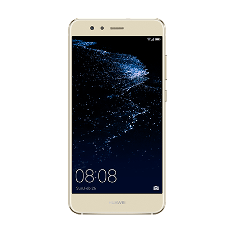 HUAWEI P10 lite ゴールド frontサムネイル