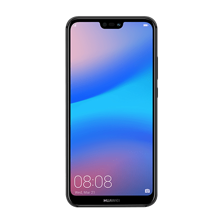 HUAWEI P20 lite ブラック frontサムネイル