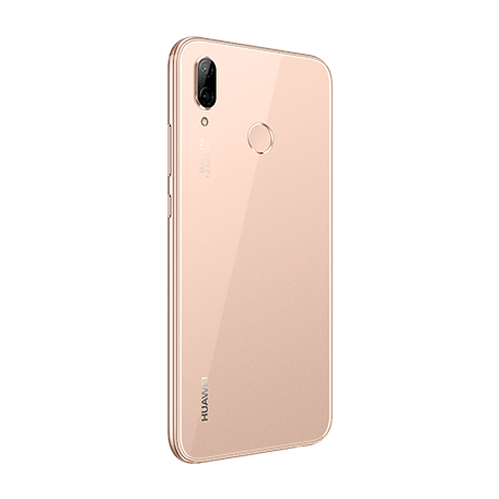 HUAWEI P20 lite サクラピンク angled-back