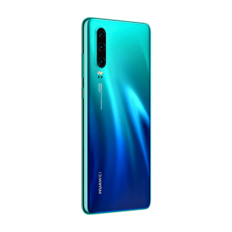 HUAWEI P30 オーロラ angled-backサムネイル