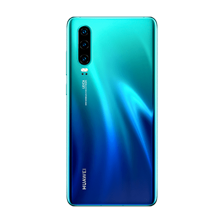 HUAWEI P30 オーロラ backサムネイル