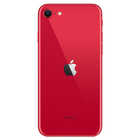 iPhone SE(第2世代) (PRODUCT)RED™ back