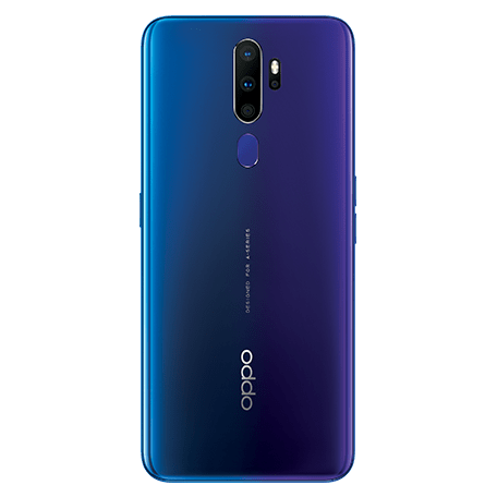 OPPO A5 2020 ブルー back