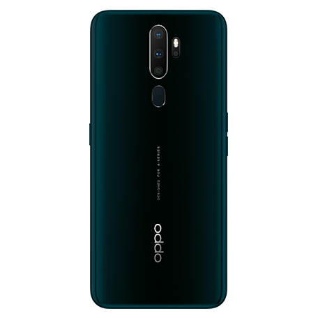 OPPO A5 2020 グリーン backサムネイル