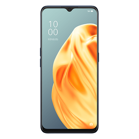 OPPO Reno3 A ブラック front