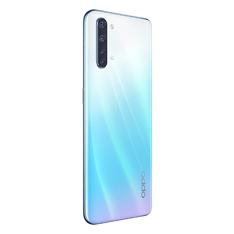 OPPO Reno3 A ホワイト angled-back