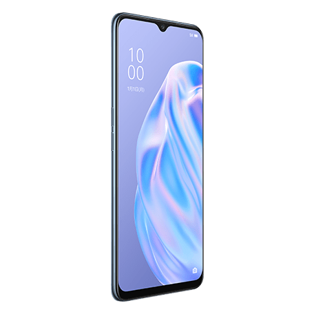 OPPO Reno3 A ホワイト angled