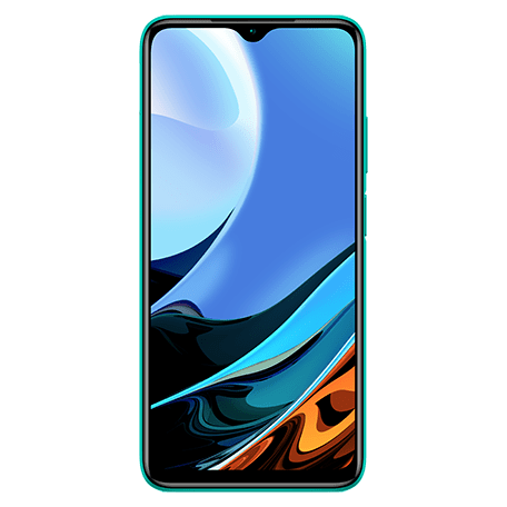 Redmi 9T グリーン frontサムネイル