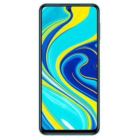 Redmi Note 9S ブルー frontサムネイル