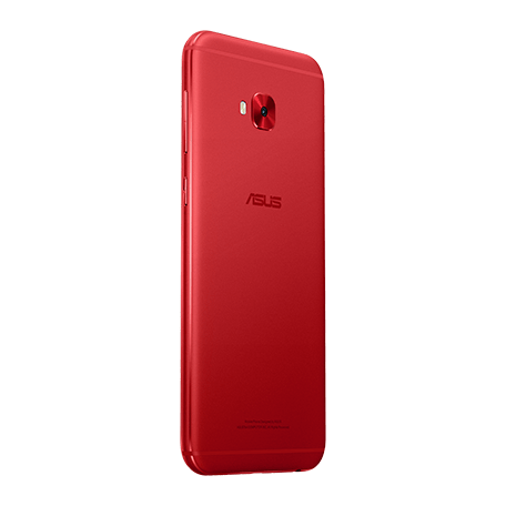 ZenFone 4 Selfie Pro (ZD552KL) レッド angled-backサムネイル