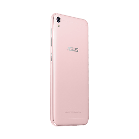 ZenFone Live (ZB501KL) ピンク angled-backサムネイル