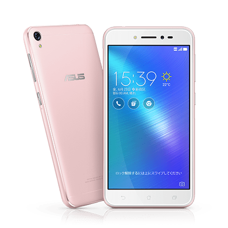 ZenFone Live (ZB501KL) ピンク setサムネイル
