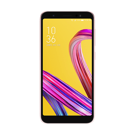 ZenFone Live (L1) (ZA550KL) ピンク frontサムネイル