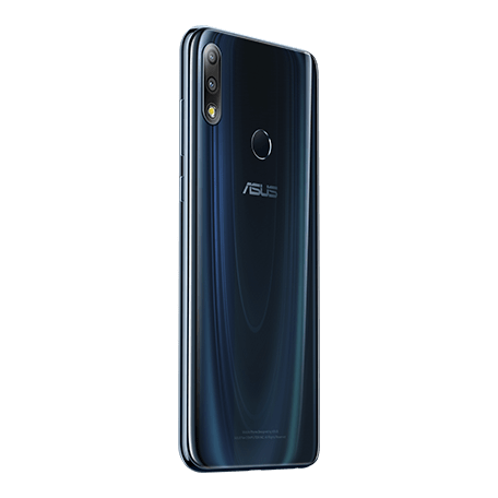 ZenFone Max Pro (M2) (ZB631KL) ブルー angled-backサムネイル