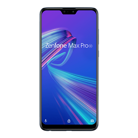 ZenFone Max Pro (M2) (ZB631KL) ブルー frontサムネイル